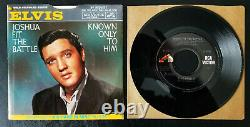 ULTRA-RARE MINT Elvis Presley JOSHUA FIT THE BATTLE 447-0651 1966