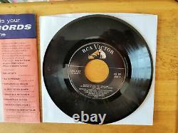 ULTRA-RARE MINT Elvis Presley SAVE-ON-RECORDS Bulletin For June'56 SPA-7-27