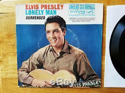ULTRA-RARE UNPLAYED MINT COMPACT 33 SINGLE Elvis Presley SURRENDER 37-7850