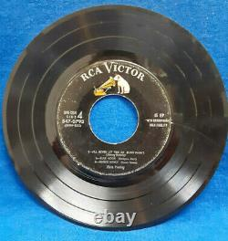 Ultra Rare Elvis Presley RCA Victor EPB -1254, 6 song Extra Play (Sides 1 & 4)
