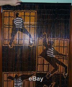 VINTAGE 1960's Gorgeous RARE Door Curtain Divider ELVIS PRESLEY Jailhouse Rock