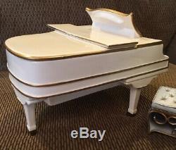 Vandor Elvis Presley How Great Thou Art RARE LE White Piano Musical Cookie Jar