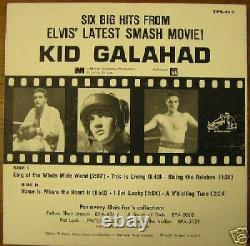 Very Rare, Elvis Presley Epa-4371, With Orange Label
