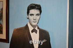 Very Rare Elvis Presley Stand Up 6' Florida Lottery Display Only 1 Listed Here