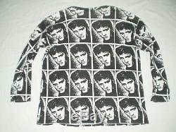 Vintage Elvis Presley All over print T shirt Rare! 90S/ Seditionaries Rockabilly