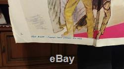 Vintage Original Elvis Presley Follow That Dream Movie Poster Rare
